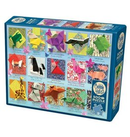 Cobble Hill 500 pc Origami Animals Puzzle