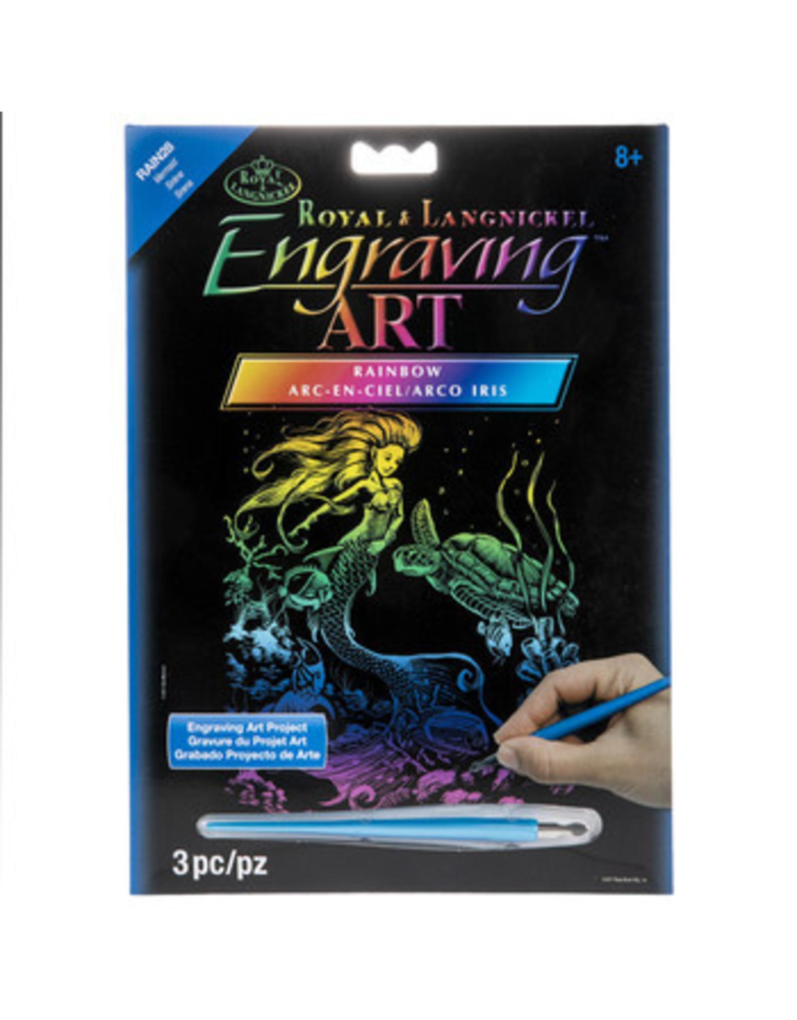 Royal and Langnickel Engraving Art, Mermaid