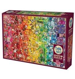Cobble Hill 2000 pcs. Rainbow Puzzle