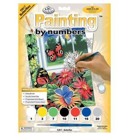 Royal and Langnickel Paint by Numbers, Butterflies