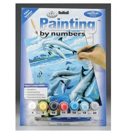 Royal and Langnickel Paint by Numbers, Dolphins