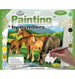 Royal and Langnickel Paint by Numbers Large, Horses and Foals