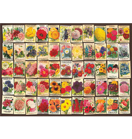 D-Toys 1000 pc Seed Packet Collage Puzzle
