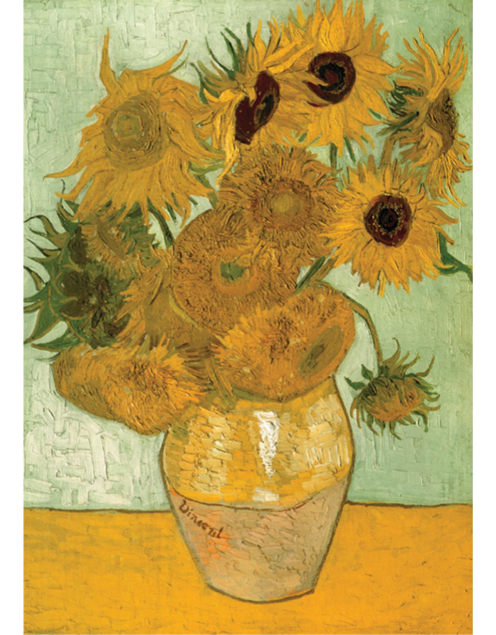 D-Toys 1000 pcs. Sunflowers (Van Gogh) Puzzle