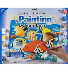 Royal and Langnickel Paint By Numbers, Tropical Fish