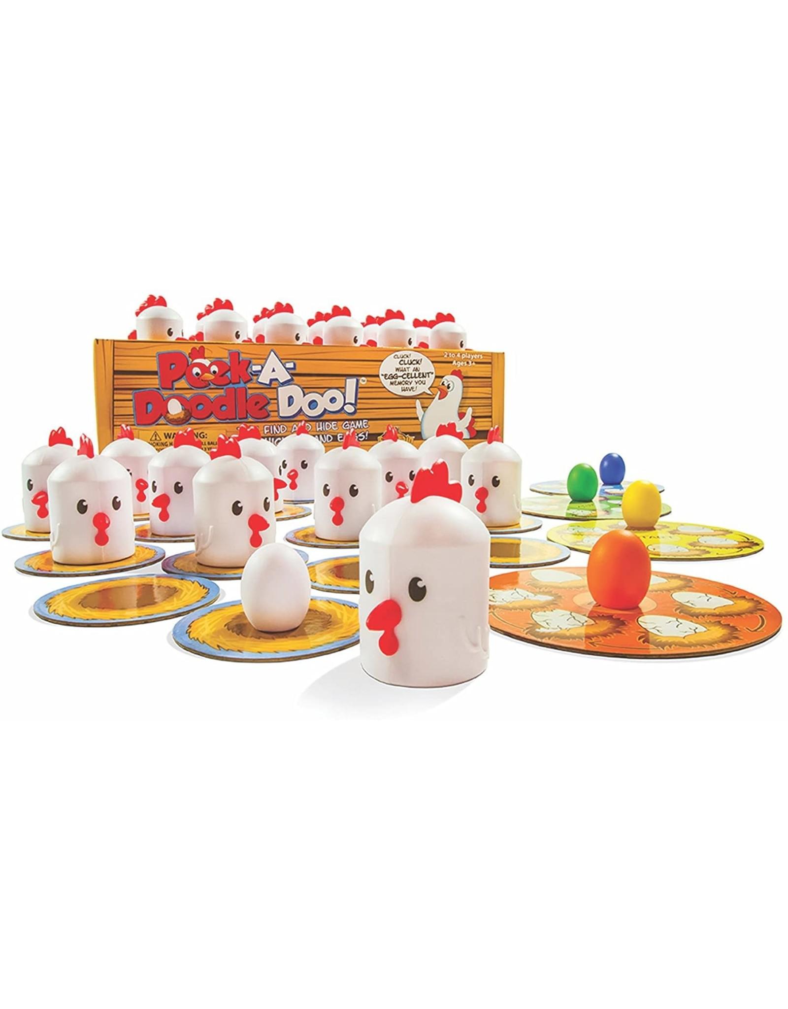 Fat Brain Toy Co. Peek-A-Doodle-Doo