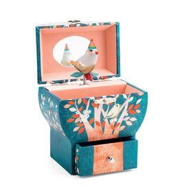 Djeco Music Box/Jewelry Box, Poetic Tree