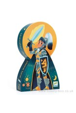 Djeco 36 pcs. Silhouette Puzzle, Full Moon Knight