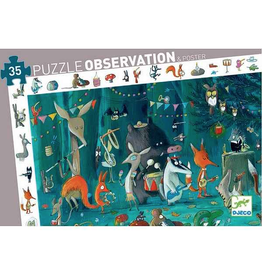 Djeco 35 pcs. Observation Puzzle, The Orchestra