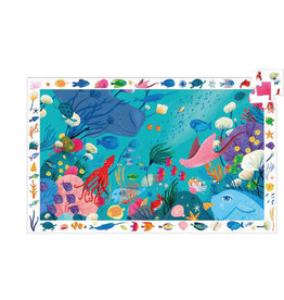 Djeco 54 pcs. Observation Puzzle, Aquatic