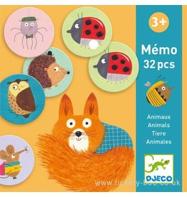 Djeco Memo, Animals