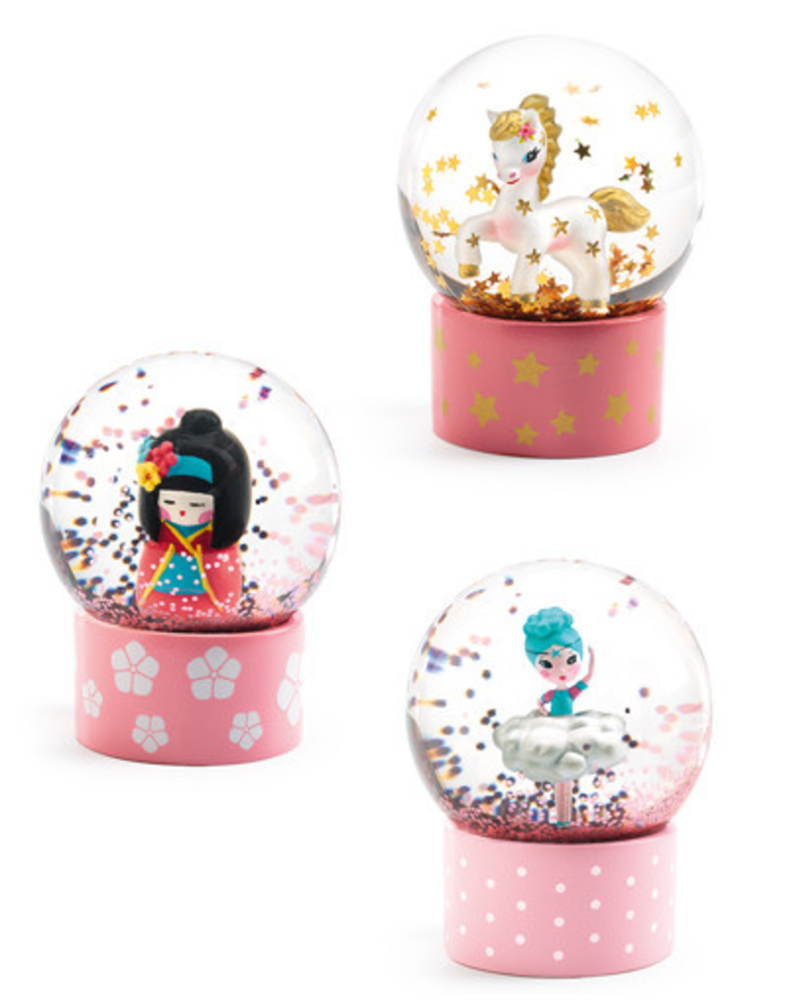 Djeco Snow Globe Assortment, So Cute!