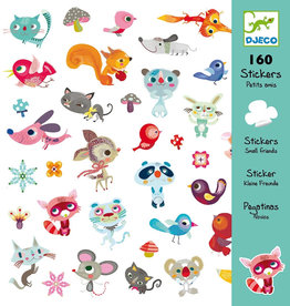 Djeco Stickers, Little Friends