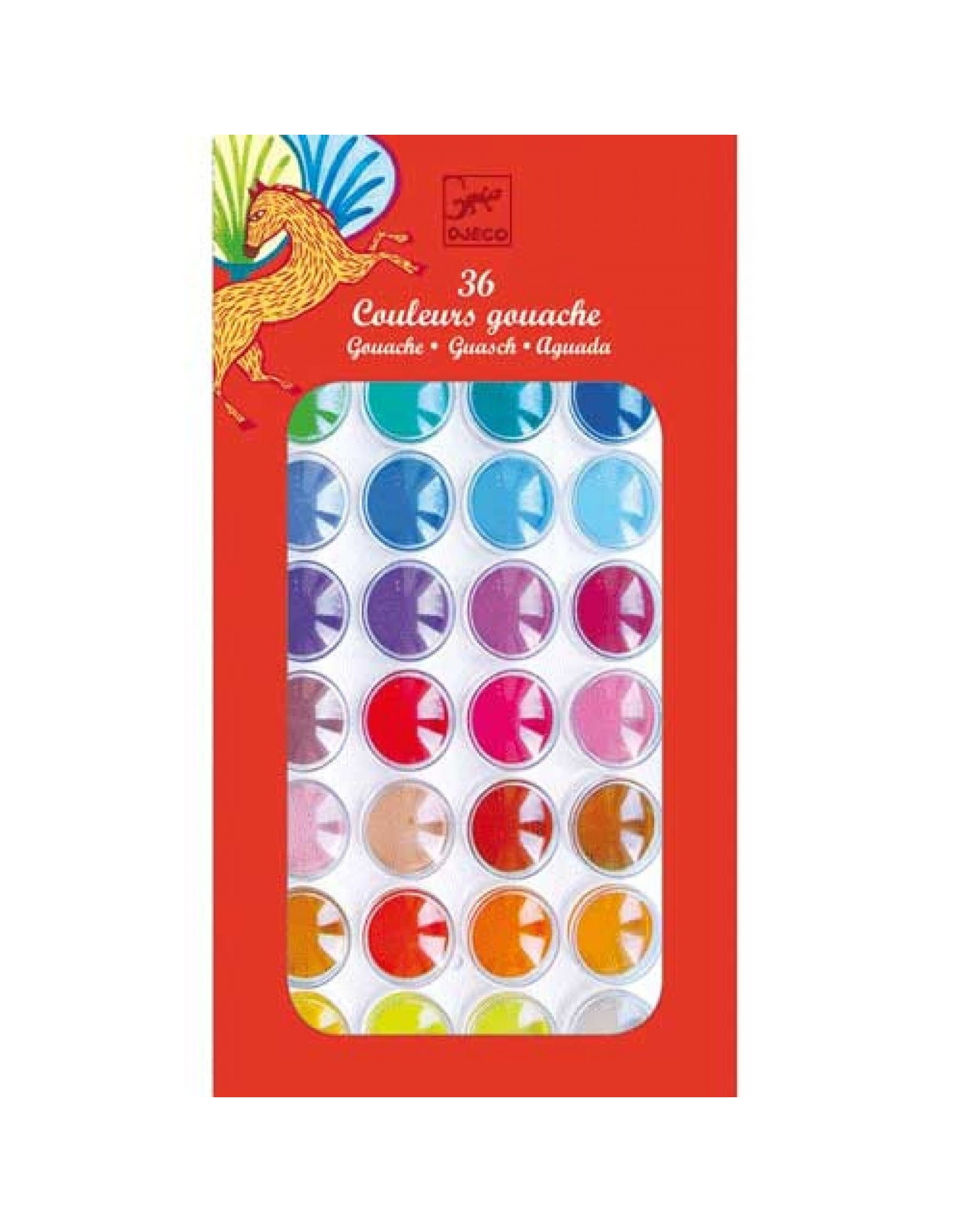 Djeco 36 Colour Cakes