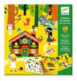 Djeco Sticker Story, The Magical Forest