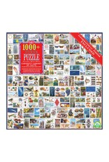 Eeboo 1000 pcs. Curiosity Cabinet of Facts Puzzle