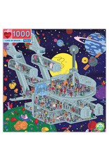 Eeboo 1000 pcs. Life in Space Puzzle