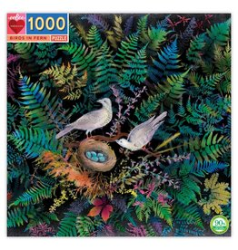 Eeboo 1000 pcs. Birds in Fern Puzzle