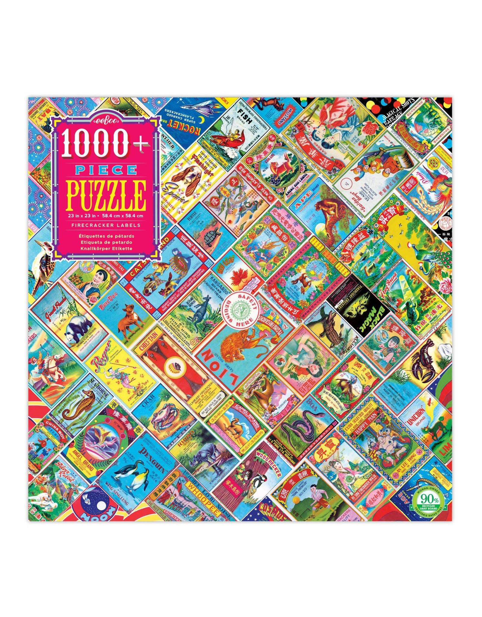 Eeboo 1000 pcs. Firecracker Labels Puzzle