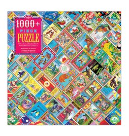 Eeboo 1000 pcs. Firecracker Labels Puzzle