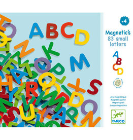 Djeco Magnetic's 83 Small Letters