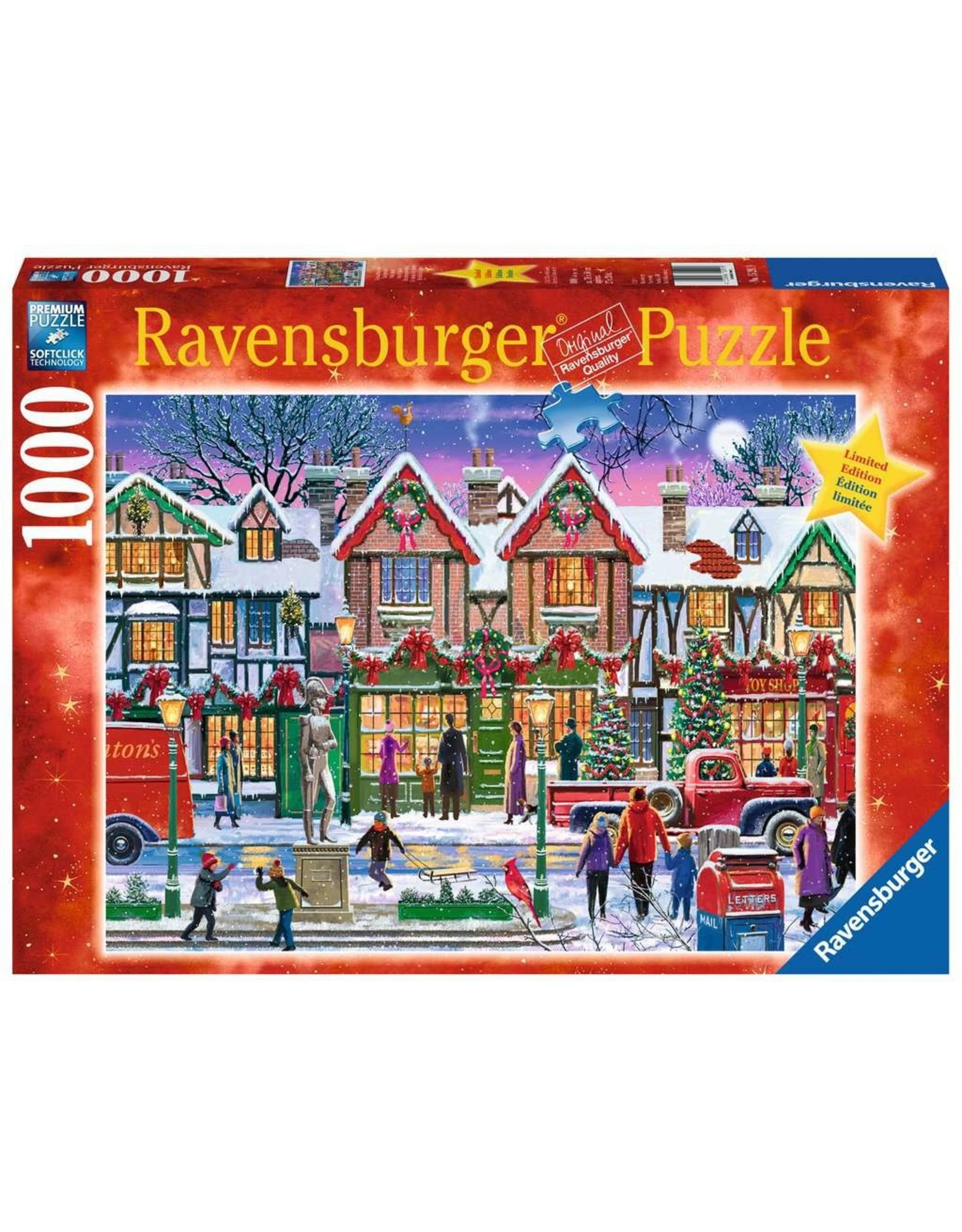 Ravensburger 1000 pcs. Christmas in the Square Puzzle