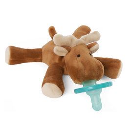WubbaNub WubbaNub Infant Pacifier, Moose