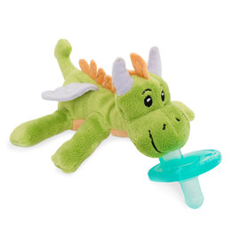 WubbaNub WubbaNub Infant Pacifier, Green Dragon