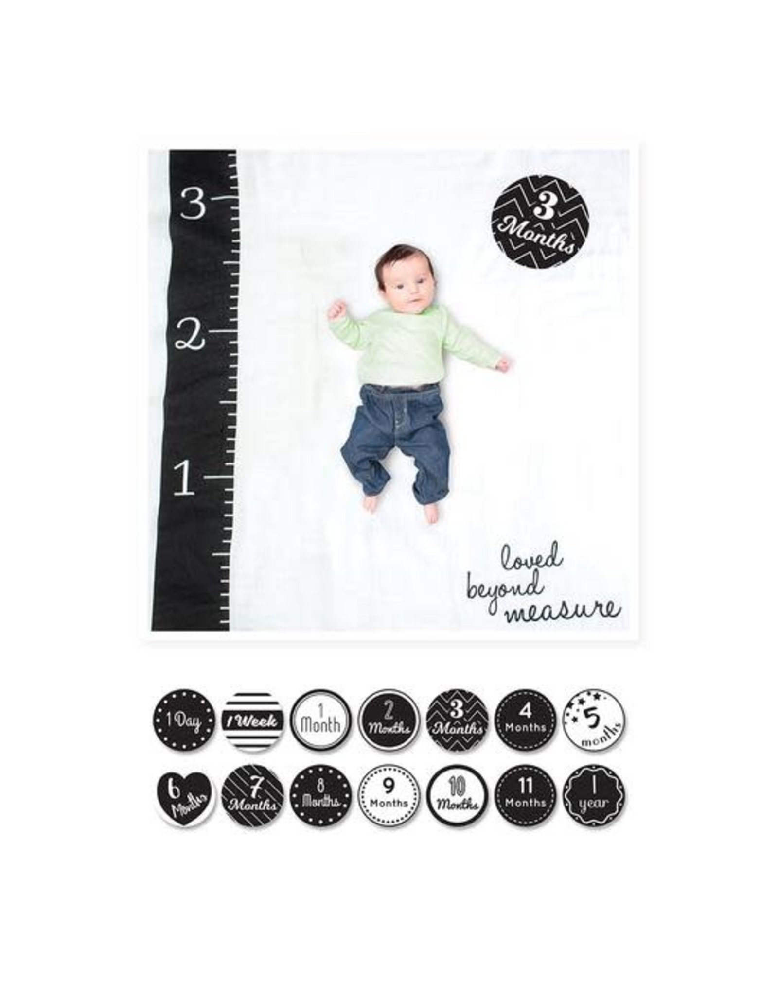 Lulujo Baby Baby's First Year Set, Loved Beyond Measure