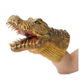 HearthSong Reptile Hand Puppets, Crocodile
