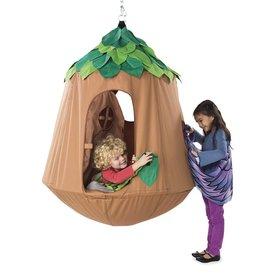 HearthSong HangOut HugglePod Tent, Woodland