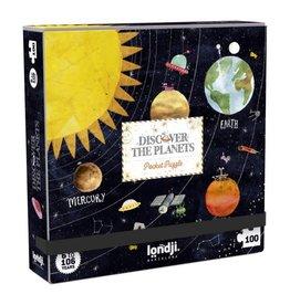 Londji 100 pcs. Pocket Puzzle, Planets