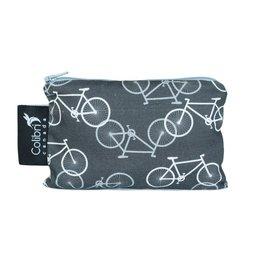 Colibri Reusable Snack Bag Small, Bikes