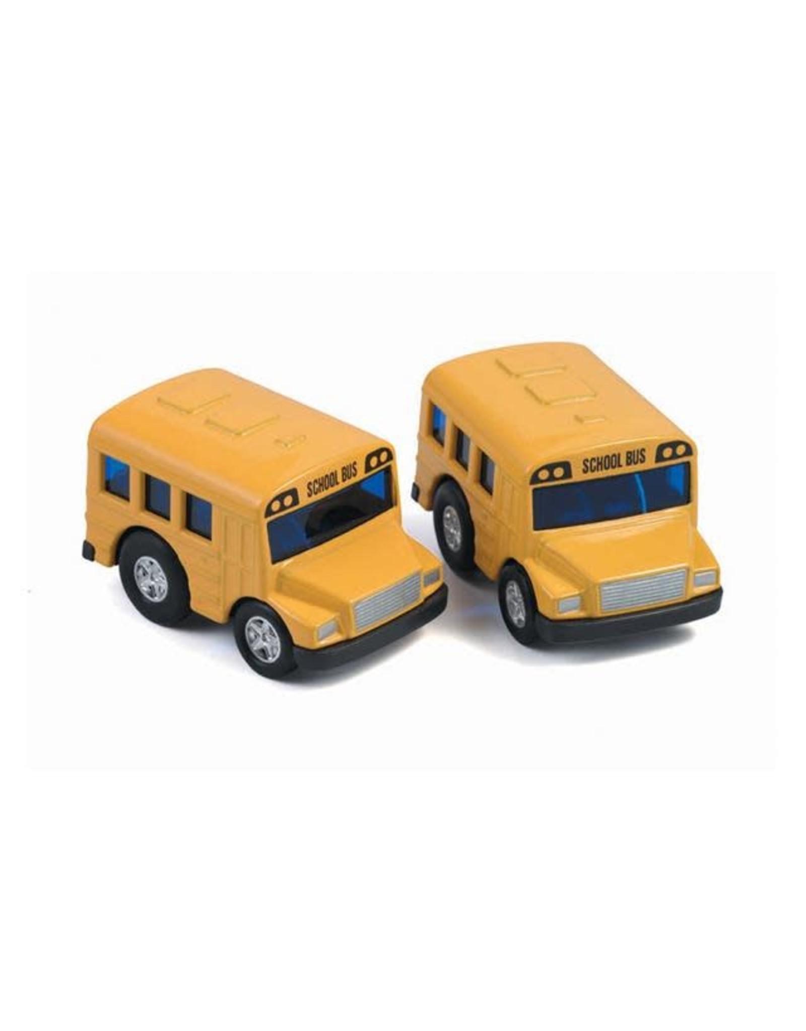 Playwell Pull Back Mini School Bus