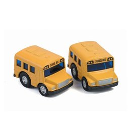 Playwell Pull Back Mini School Bus