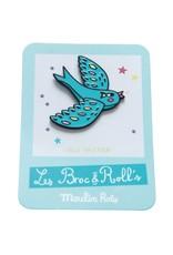 Moulin Roty Broc' & Rolls - Bird Enamel Pin