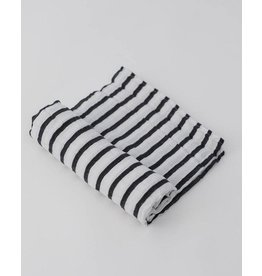 Little Unicorn, LLC Cotton Muslin Swaddle Single, Breton Stripes
