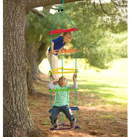 HearthSong Tri Colourful Rope Ladder