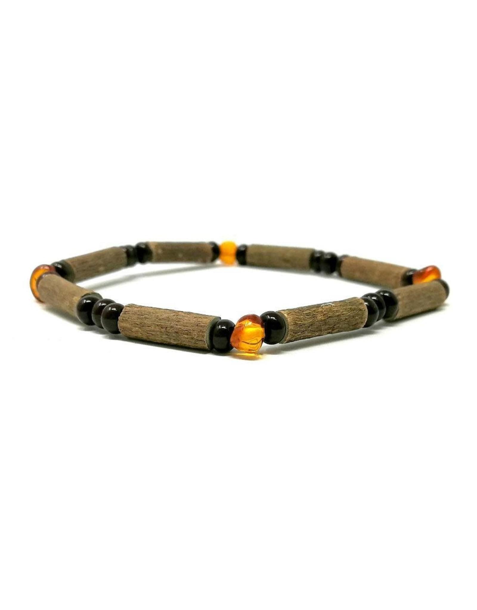 "Pur Noisetier Pure Hazelwood Bracelet 7"" Amber"