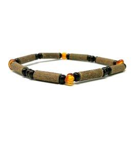 "Pur Noisetier Pure Hazelwood Bracelet 6"" Amber"