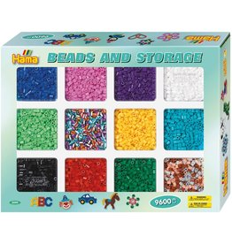 Hama 9600 Beads in Sorting Tray