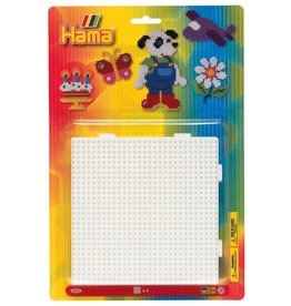 Hama Large Square Pegboard Blister