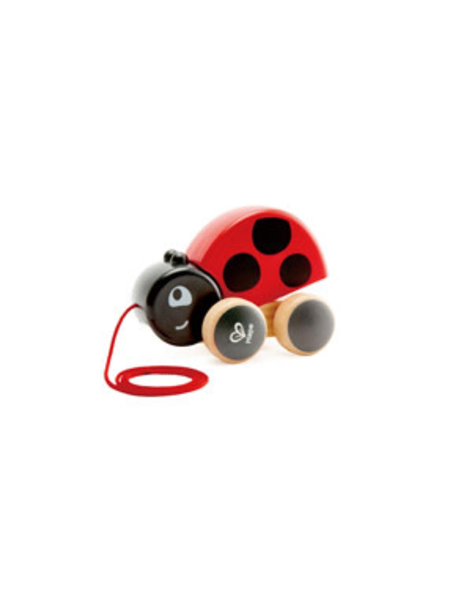 Hape Ladybug Pull Along