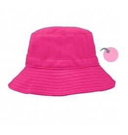 iPlay Reversible Bucket Hat, Pink, 9-18 months
