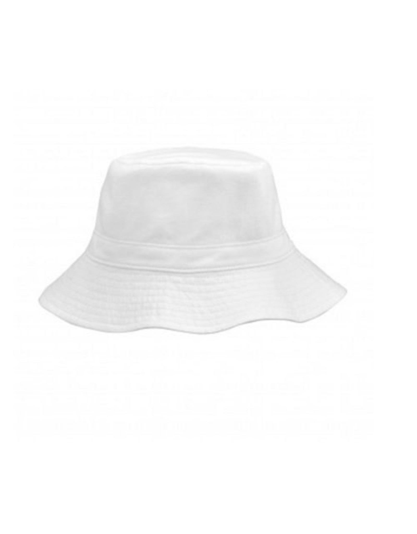 iPlay Reversible Bucket Hat, White, 9-18 months
