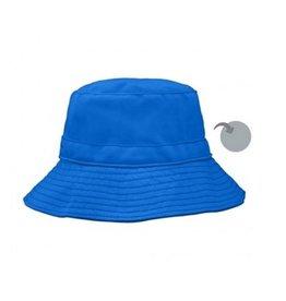 iPlay Reversible Bucket Hat, Blue/Grey, 0-6 months