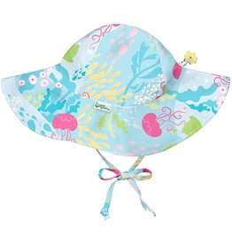 iPlay Sun Protection Brim Hat, Jellyfish, 0-6 months