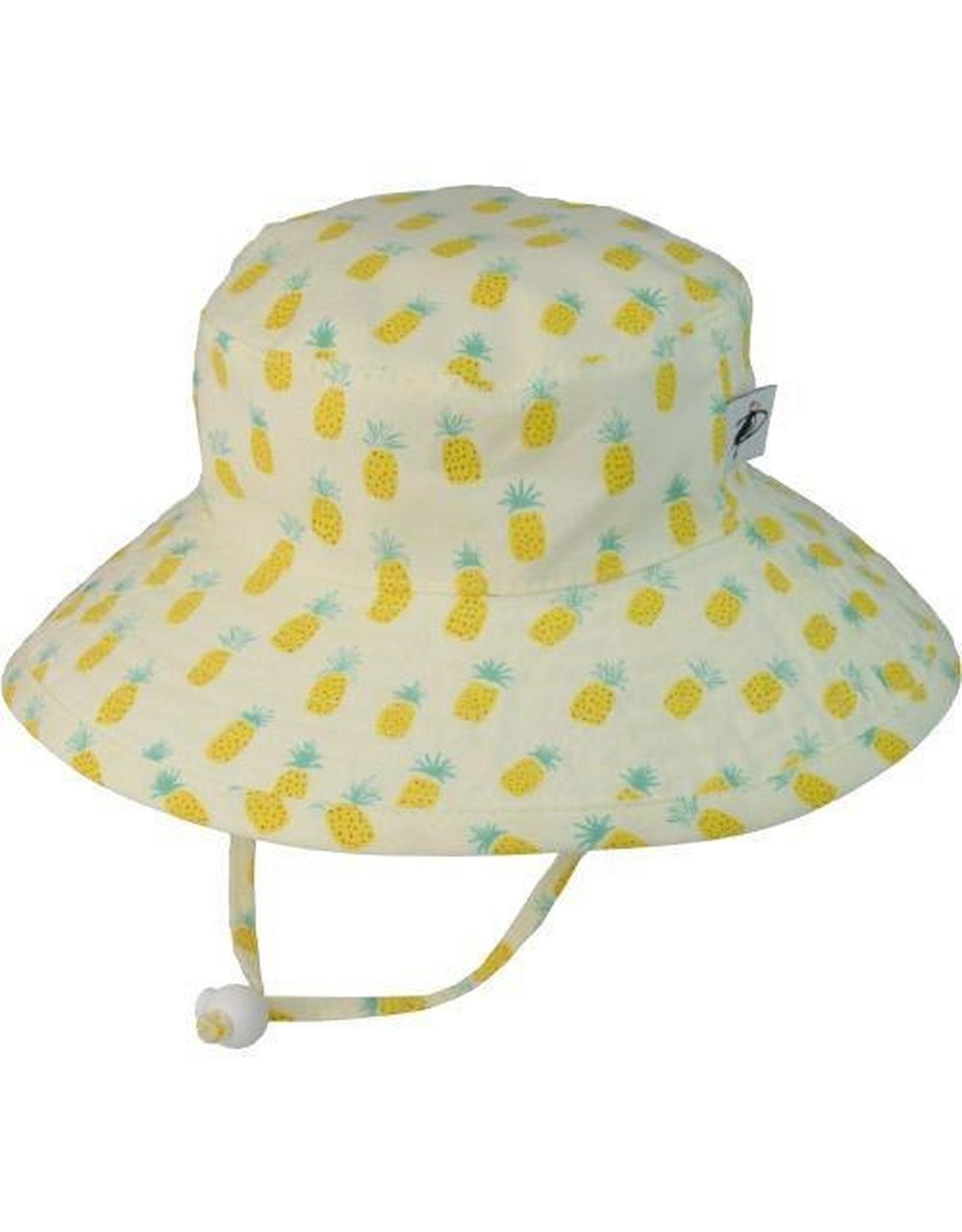 Puffin Gear Sunbaby Hat, Pineapple, 6-12 months