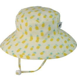 Puffin Gear Sunbaby Hat, Pineapple, 6-12 months