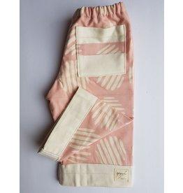 Georgi Pearson Quilty Pants, Soft Pink White Circles